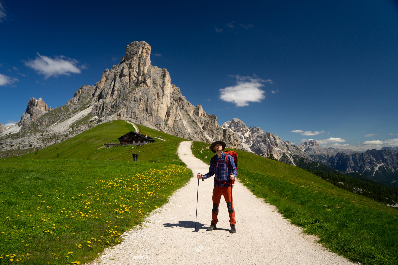 Dolomity Passo Giau