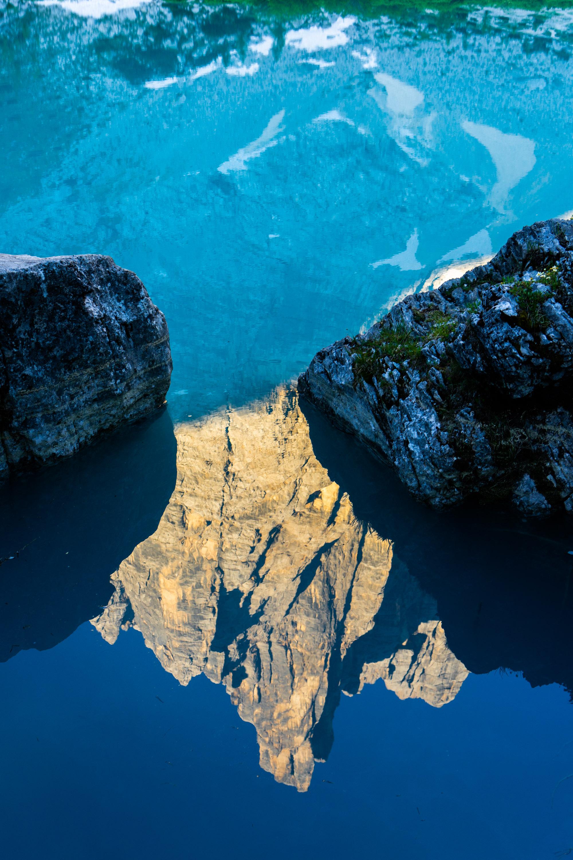 Dito Dio - Palec Boga, Lago di Sorapis