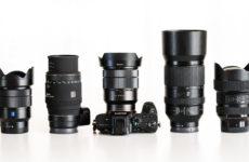 Obiektywy do Sony E – lista 100 szkieł do pełnej klatki a7, a7r, a7s, a9