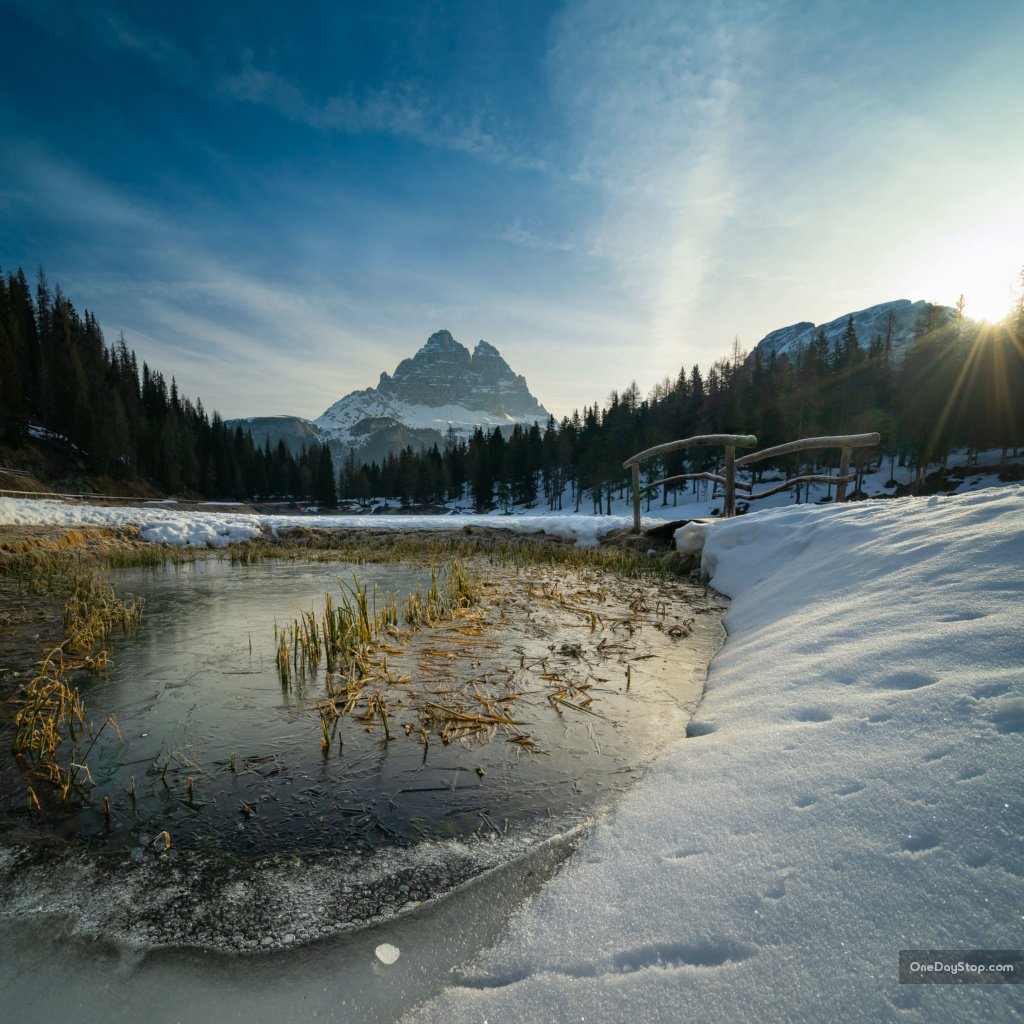 Lago Antorno, Dolomites