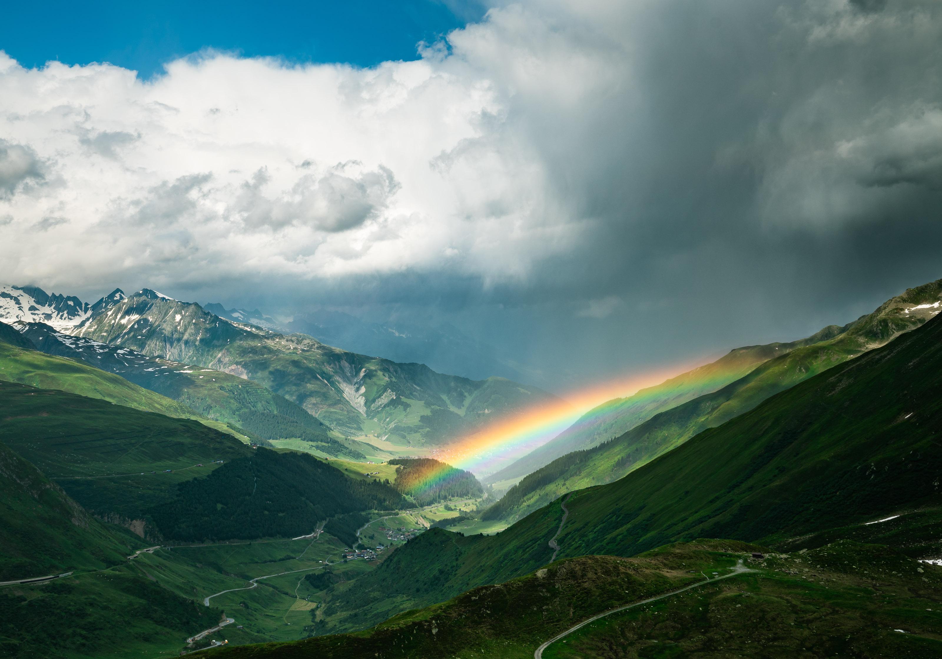 Alpy Szwajcarskie, Gryzonia