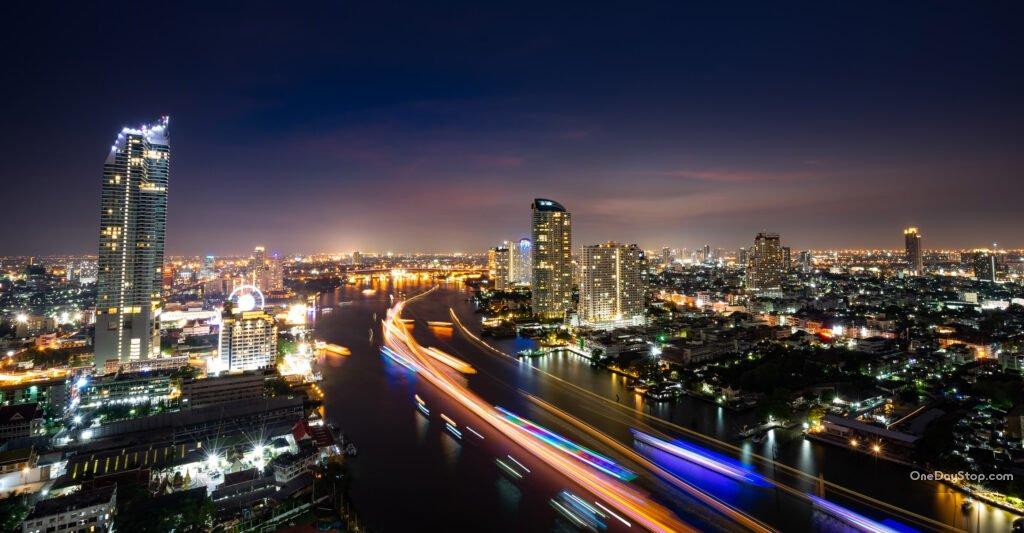 Fotografia nocna - Bangkok - Sony 16-35 mm F4