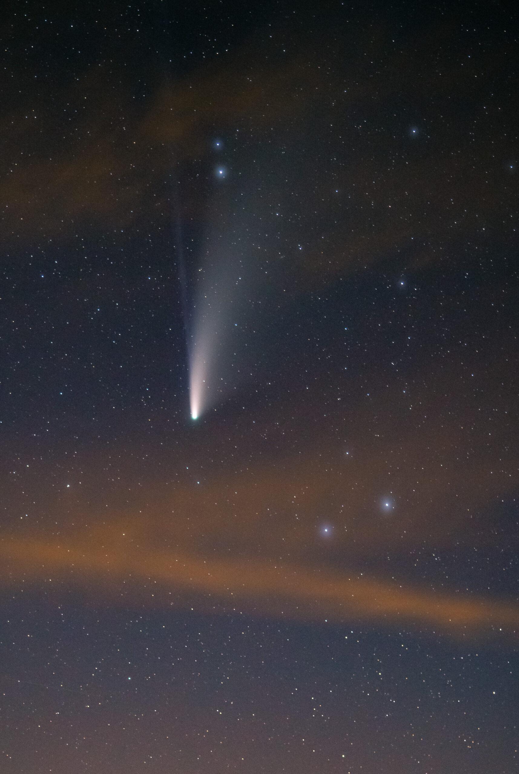 kometa c 2020 neowise, szwajcaria