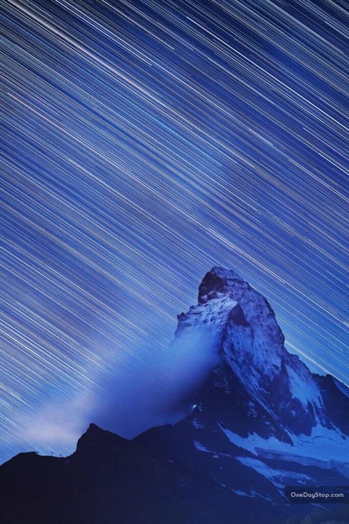 matterhorn star trails
