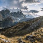 Widok na Alpy Berneńskie