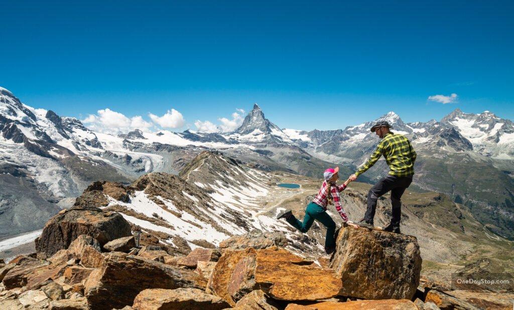 Gornergrat i Matterhorn - Zermatt