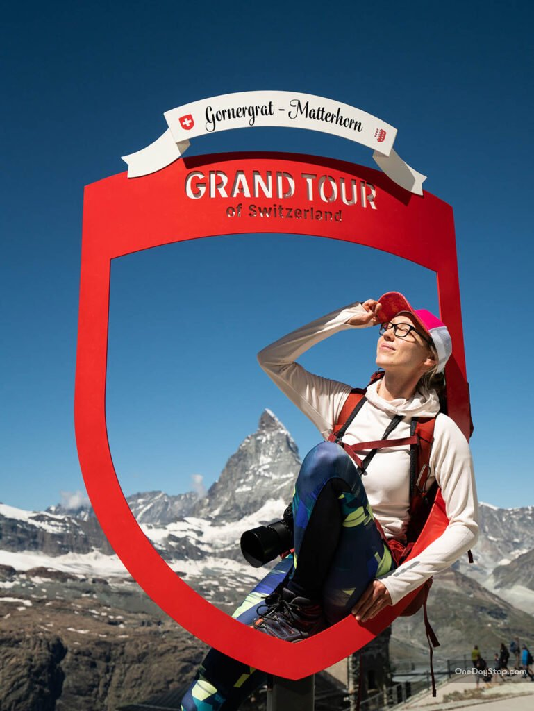 Grand Tour of Switzerland - przystanek Matterhorn