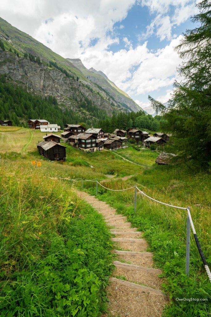 Zermatt - Furi hiking trail