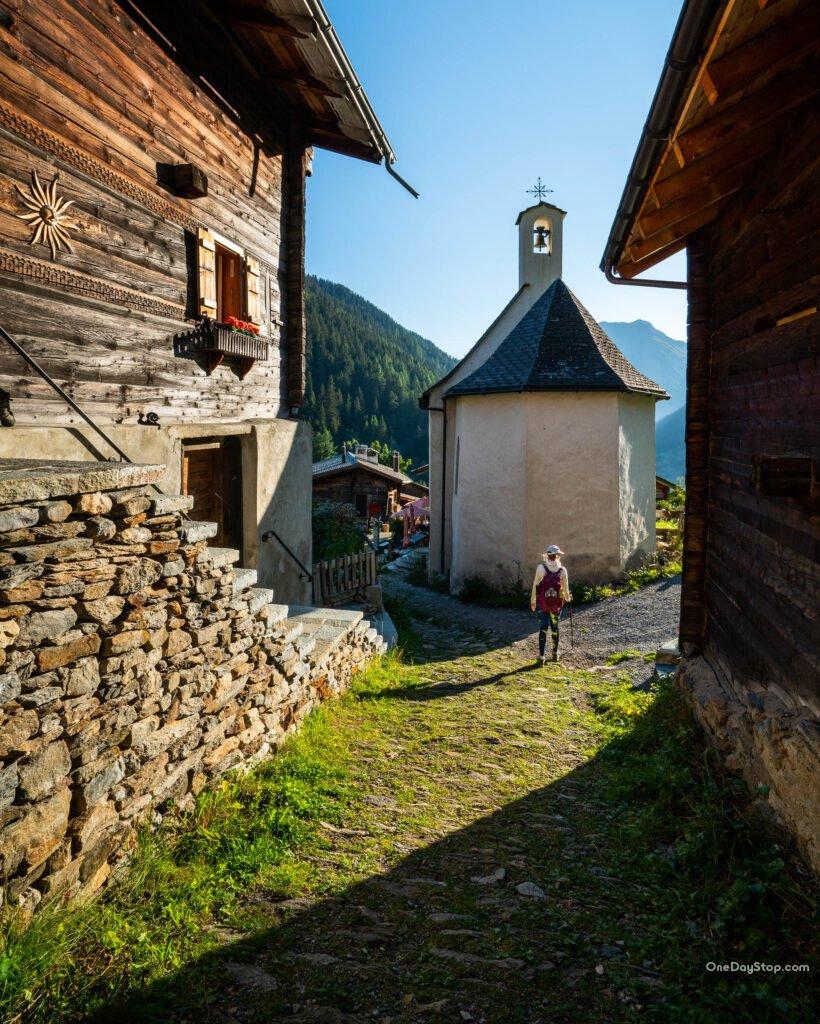 Fäld, binntal, Goms, Valais, Switzerland