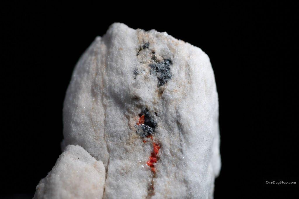 minerały w binntal, kopalnia lengenbach - dolomit