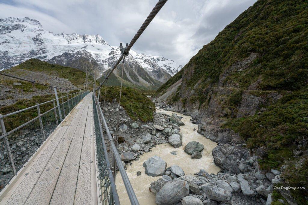 Hooker Valley track - Nowa Zelandia