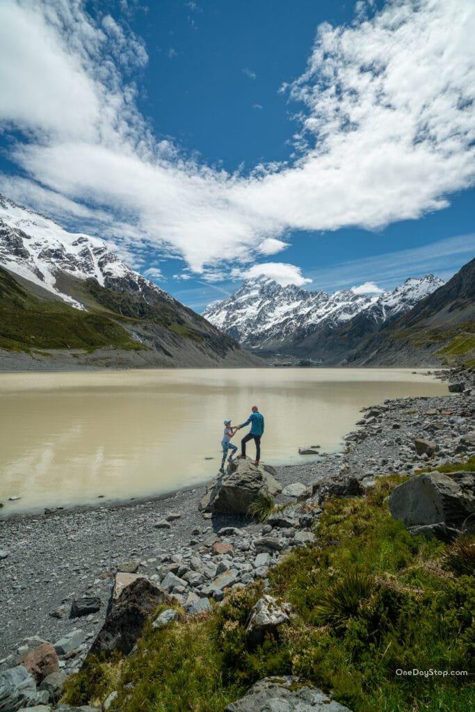 Lake Tasman - Nowa Zelandia