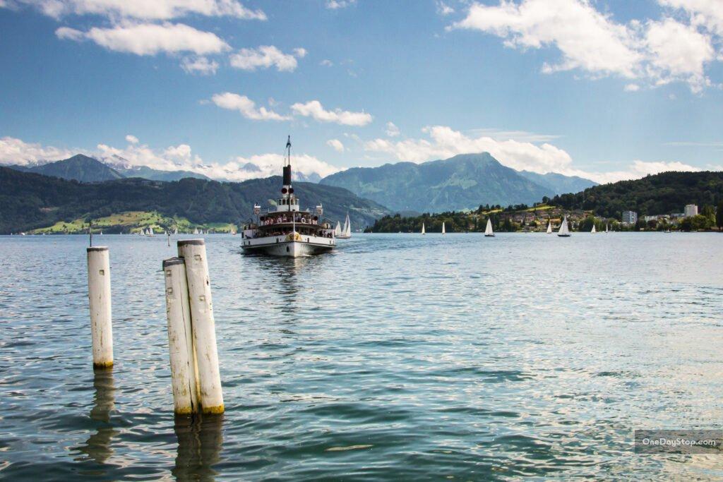 Lucerna - ekskluzywnie - jezioro