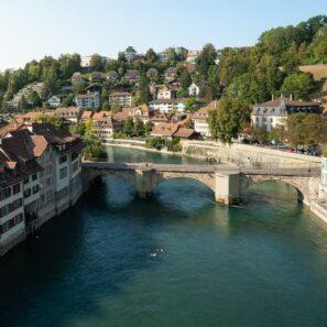 Bern spływ rzeką