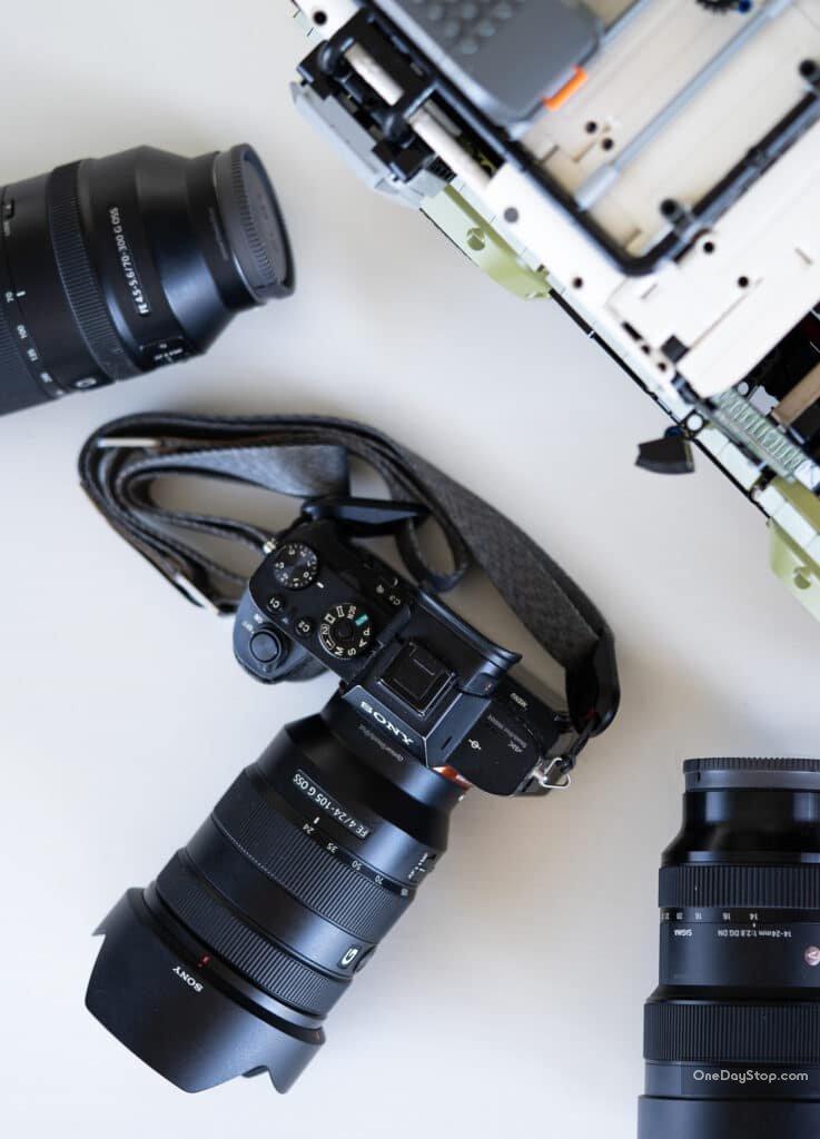 Sony G 24-105 mm obiektyw - opinie i recenzja